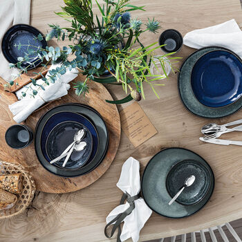 Lave gris & bleu set