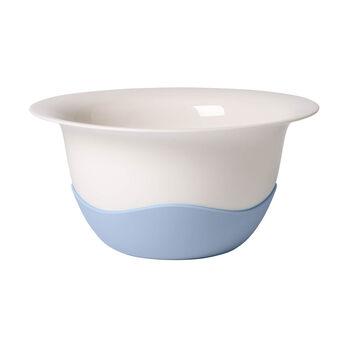 Clever Cooking blauwe zeef-/serveerschaal