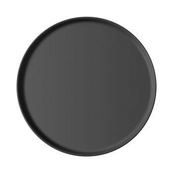 Iconic universeel bord, zwart, 24 x 2 cm