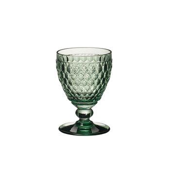 Boston Coloured witte-wijnglas green