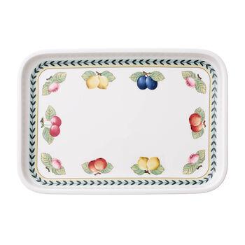 French Garden rechthoekige dessertschaal 32 x 22  cm