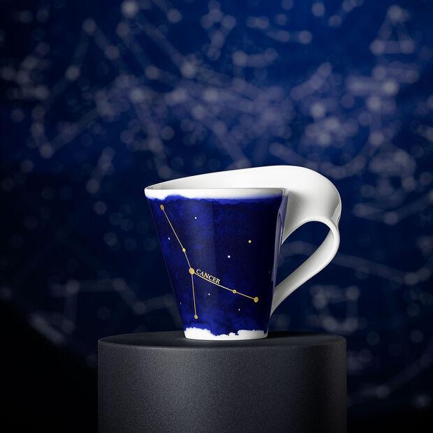 NewWave Stars beker Kreeft, 300 ml, blauw/wit, , large