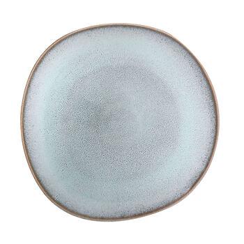 Lave Glacé eetbord, turquoise, 28 x 28 x 2,7 cm