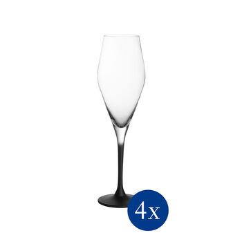 Manufacture Rock champagneglas, 4 stuks, 260 ml