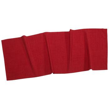 Textil Uni TREND Runner rood 50x140cm