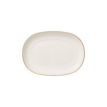 Anmut Gold saucière-onderdeel, lengte 20 cm, wit/goud