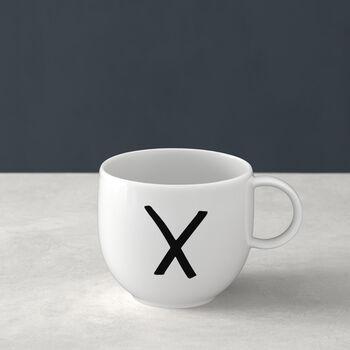 Letters beker K 13x10x8cm
