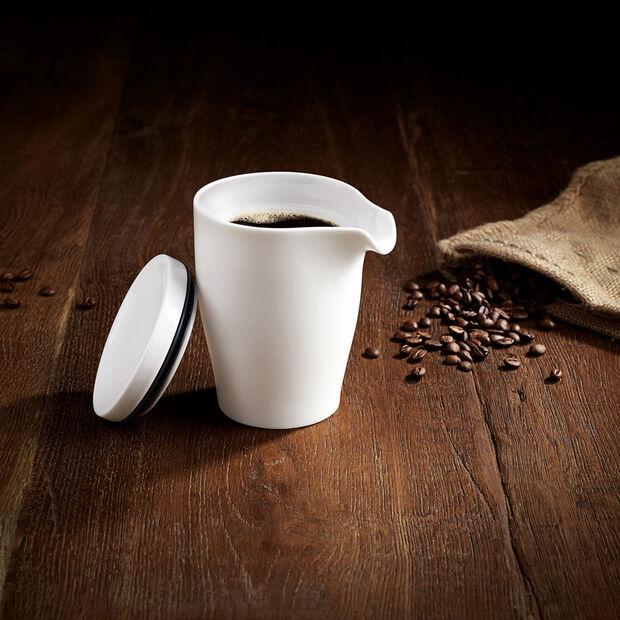 Coffee Passion dubbelwandige koffiepot met deksel, , large