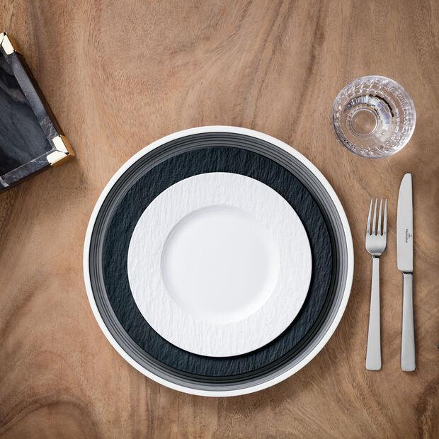 Manufacture Rock blanc ontbijtbord, , large