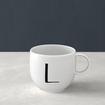 Letters beker F 13x10x8cm