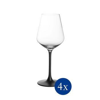 Manufacture Rock rode wijnglas, 4 stuks, 470 ml
