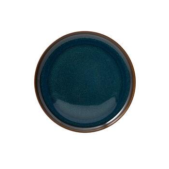 Crafted Denim ontbijtbord, blauw, 21 cm