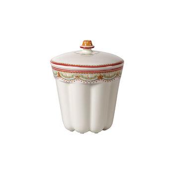 Winter Bakery Delight klein doosje tulband, rood/gekleurd, 13 x 13 x 16 cm, 720 ml