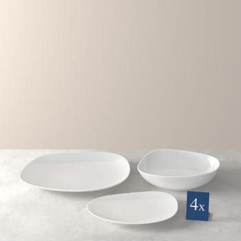 Organic White Starter Set bord 12-delig