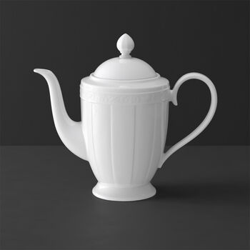 White Pearl koffiepot 6 pers.