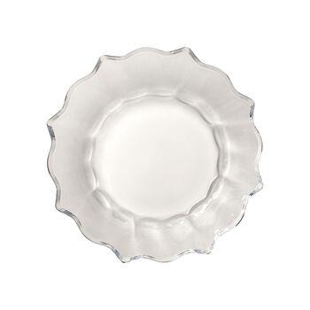 Christmas Glass Accessories schaal, helder, 25 cm, 850 ml