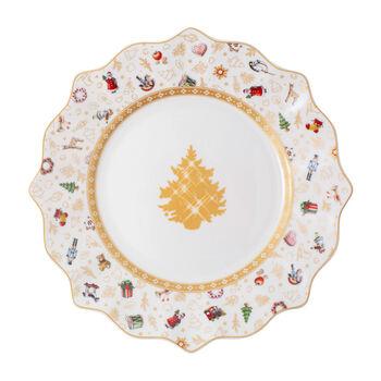 Toy's Delight ontbijtbord, jubileumeditie, gekleurd/goud/wit