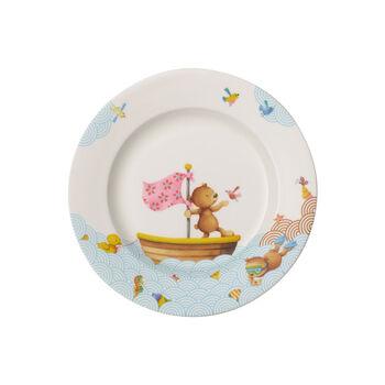 Happy as a Bear Dinerbord voor kinderen 220x220x26mm