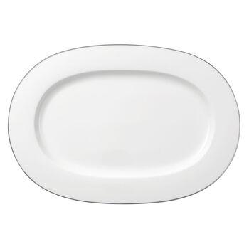 Anmut Platinum No.1 ovale schaal 41 cm