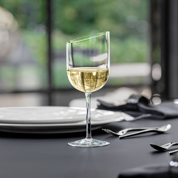 NewMoon witte wijnglazenset, 300 ml, 4-delig, , large