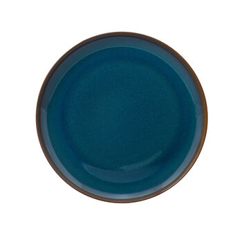 Crafted Denim eetbord, blauw, 26 cm