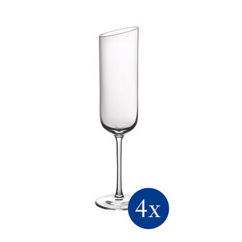 NewMoon champagneglazenset, 170 ml, 4-delig