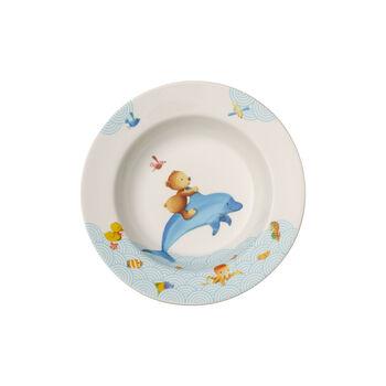 Happy as a Bear Diep bord voor kinderen 195mm