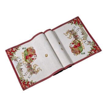 Toy's Fantasy Gobelin loper slede XL, rood/gekleurd, 49 x 143 cm