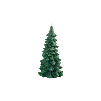 Winter Collage Accessoires Kaars dennenboom L 25cm