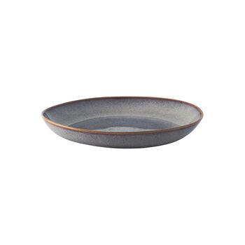 Lave Beige platte schaal, beige, 28 x 27 x 4,3 cm
