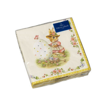 Spring Fantasy servetten, Anna & Paul, 25x25cm, 20 stuks