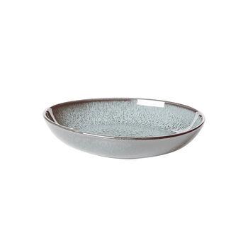 like. by Villeroy &Boch Lave Glacé kleine platte schaal, turquoise, 22 x 21 x 4,2 cm