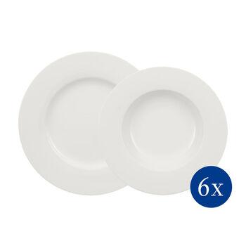 Wonderful World White tafelset, 12-delig