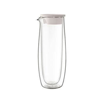 Artesano Hot&Cold Beverages Glazen karaf met deksel