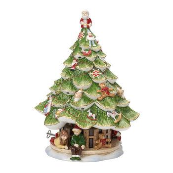Christmas Toys Memory Kerstboom groot met Kinderen 30cm