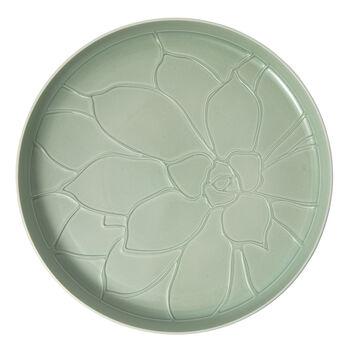 it's my home dienblad Socculent, 34 cm, groen/wit