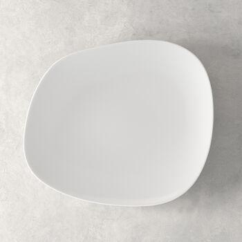 Organic White Dinerbord 28 x 24 x 3cm
