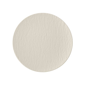 Manufacture Rock Blanc universeel bord Coupe, 25 cm