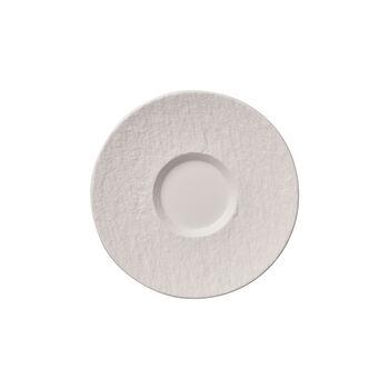 Manufacture Rock Blanc Café au lait kopje met schotel, 17 cm