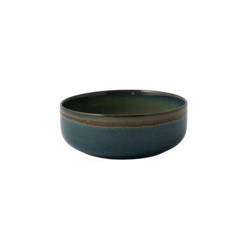 Crafted Breeze bol, grijsblauw, 16 cm