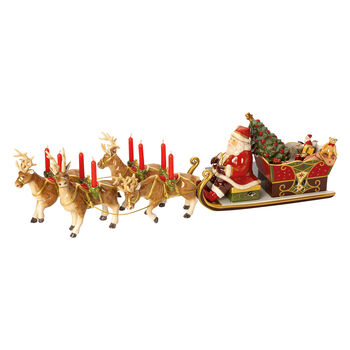 Christmas Toys Memory Santa's Sledetocht 22x70x16cm