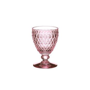 Boston Coloured witte-wijnglas rose