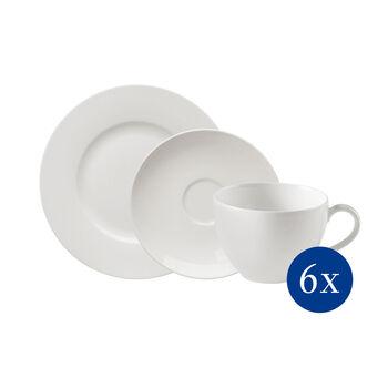 vivo   Villeroy & Boch Group Basic White Koffieset 18dlg