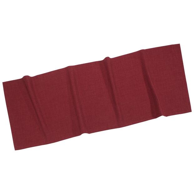 Textil Uni TREND Runner Bordeaux 50x140cm, , large