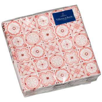 Papieren servetten Rose Caro, 20 stuks, 25x25cm