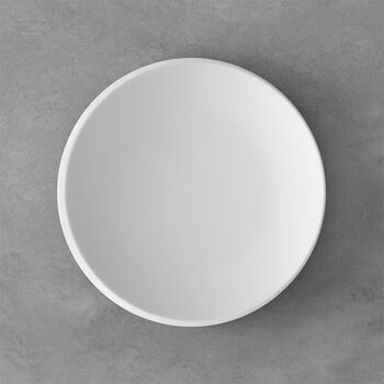 NewMoon ontbijtbord, 24 cm, wit