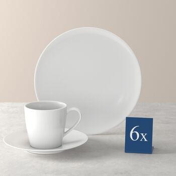 Voice Basic koffie-set, wit, 18-delig