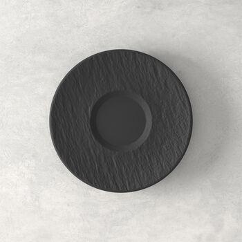 Manufacture Rock schotel, zwart/grijs, 15,5 x 15,5 x 2 cm