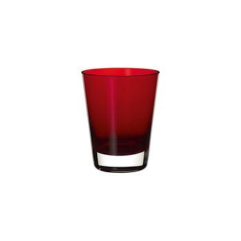 Colour Concept cocktail-/waterglas Red