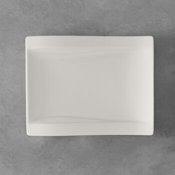 NewWave rechthoekig ontbijtbord 26 x 20 cm